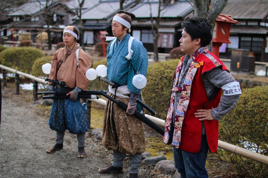 江戸村の侍