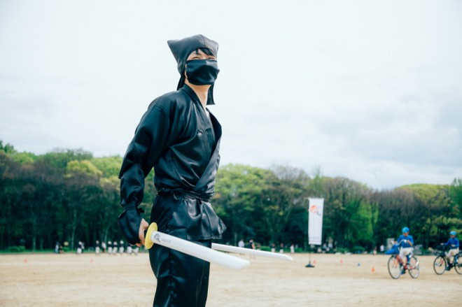 In the battlefield ninja you feared