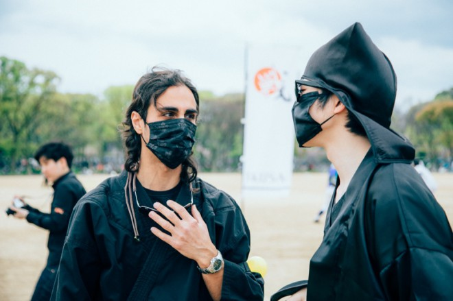 Ninja and Japanese ninja from Dubai
