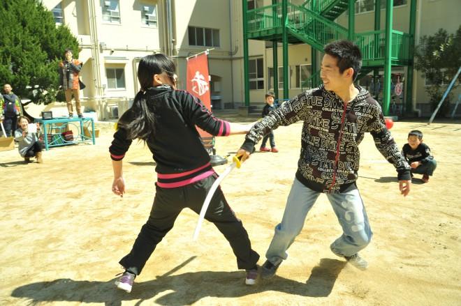一対一の戦い