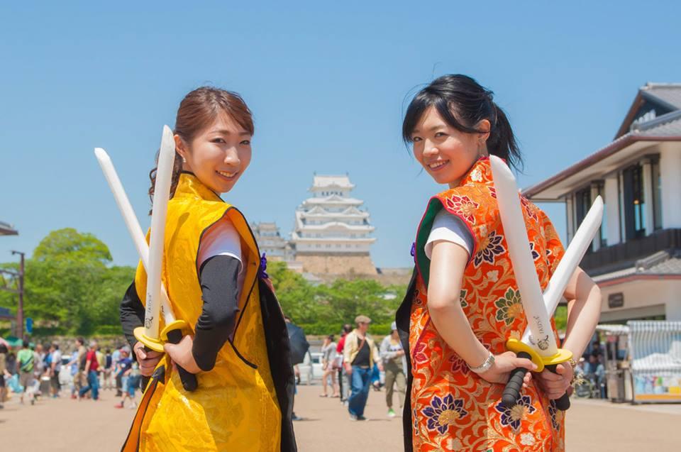 姫路城チャンバラ2