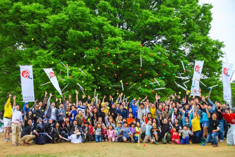 代々木公園チャンバラ第1回