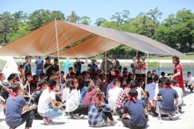 チャンバラ×キャンプ×企業で岡崎市の地域活性化への実験がスタート