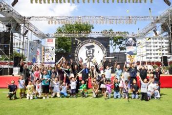 富山でチャンバラ初開催!日本晴れの「富山まつり」で大合戦