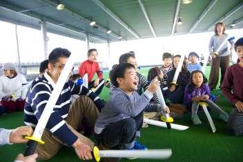 「勤労感謝の日」特別開催!!〜親子編〜 本気で遊ぶ親子が集まりました!
