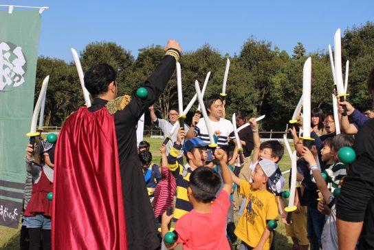 【開催ブログ】和洋折衷!舞台はまさかのフランス革命!こもれび森のイバライド「IBARAKI秋の陣 外伝」