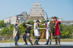 姫路城に1日限定の忍術学園が開校!