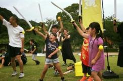 チャンバラ合戦-戦IKUSA- 愛知こどもの国 祝賀の集い